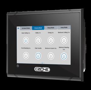 Airstream CZone Partnership Monitor Panel