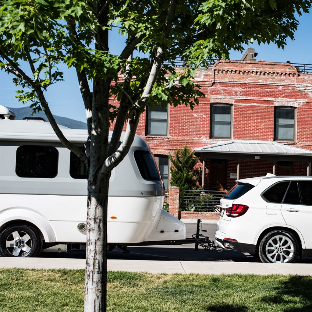 Nest by Airstream Parking BMW