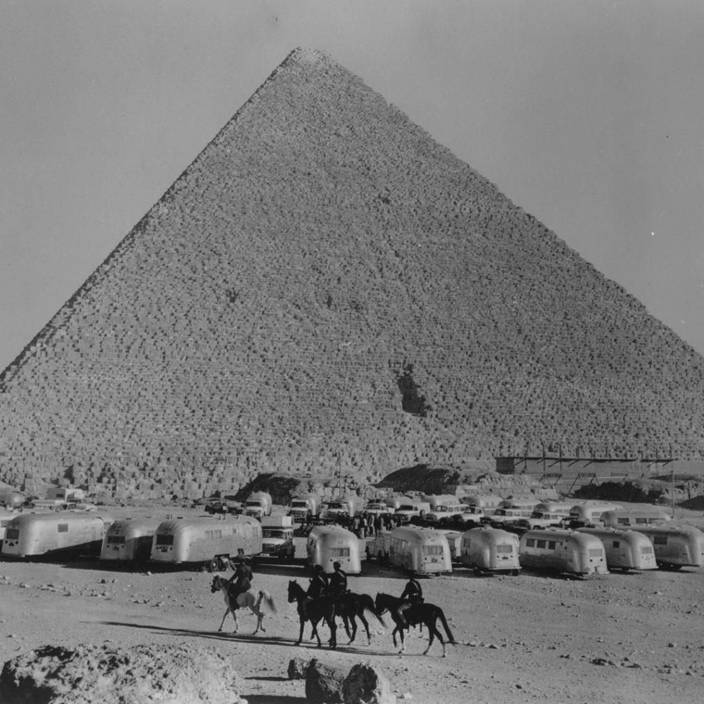 Airstream Egyptian Pyramids