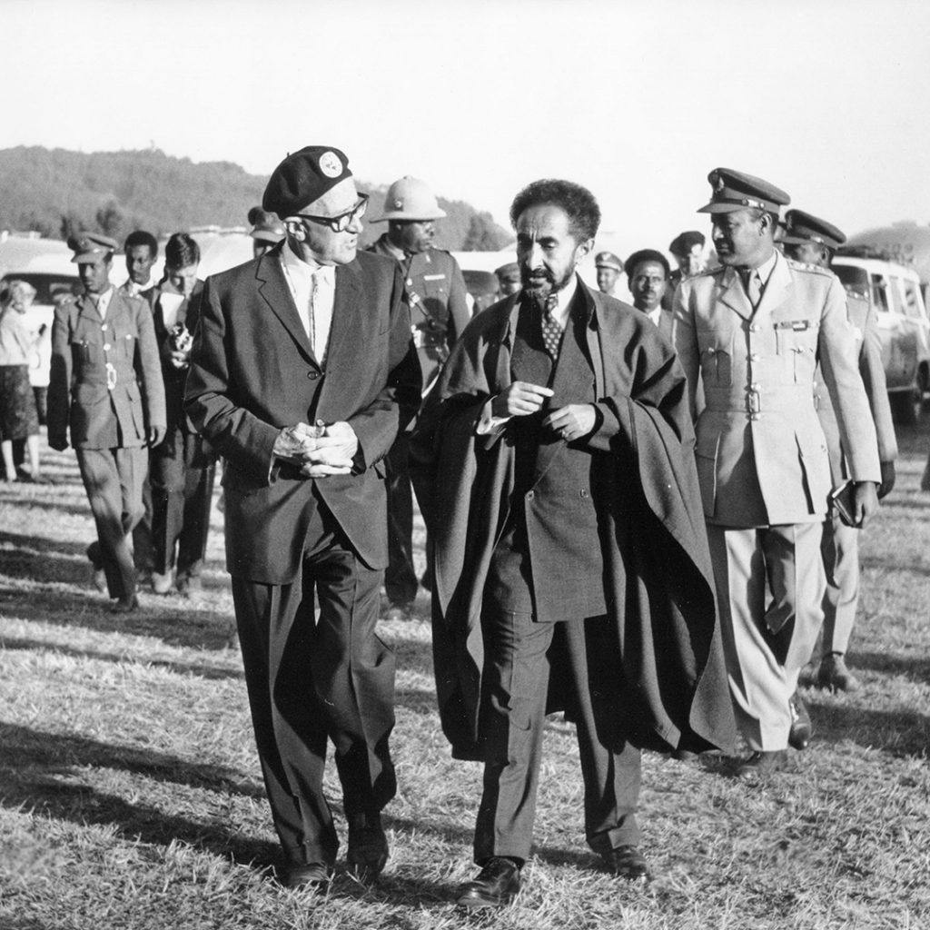 Airstream-tradition-Wally-and-Emperor-Haile-Selassie