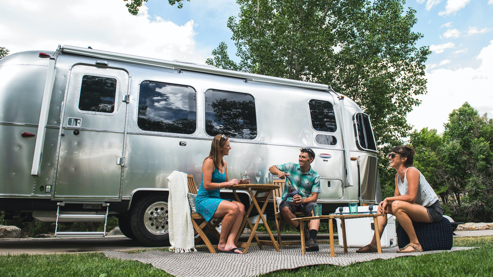 Cooking in an Airstream