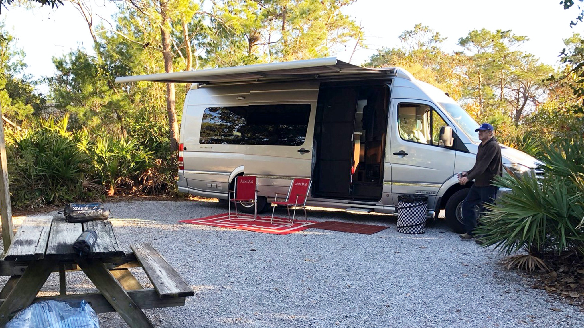 Airstream Interstate EXT Bob and Becky Kevoian