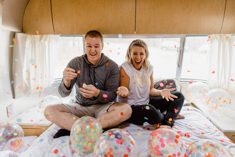 Party in an Airstream