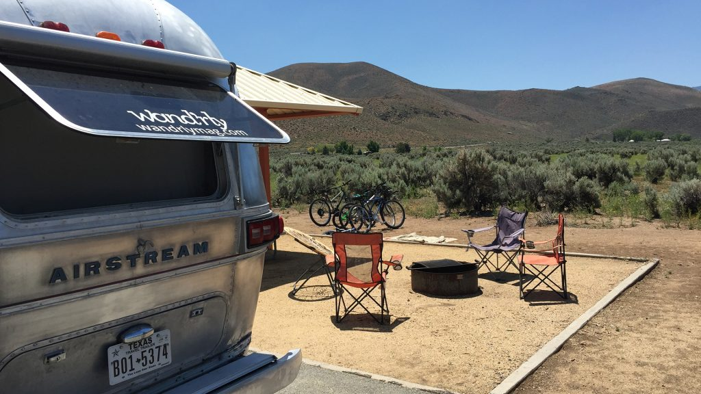 Airstream Camping Washoe Lake State Park