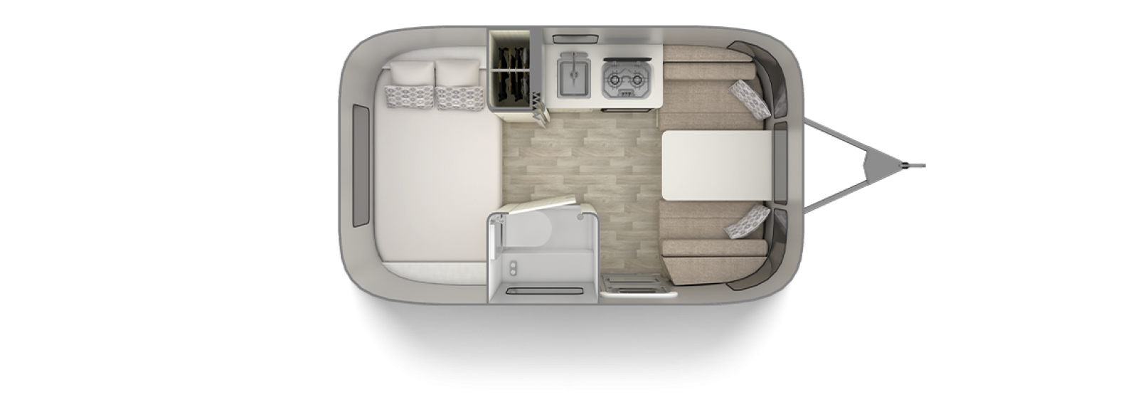 Bambi 16RB Floor Plan