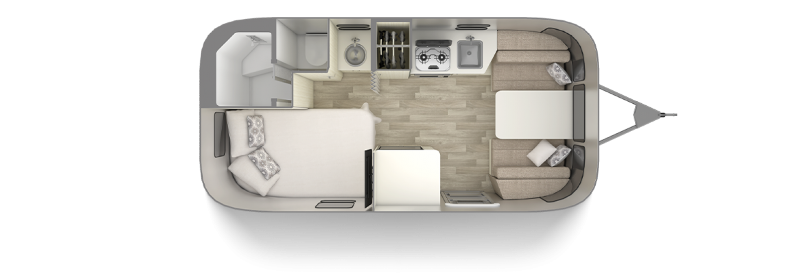 Bambi 19CB Floor Plan