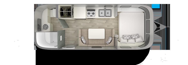 Floor Plans Bambi Travel Trailers Airstream