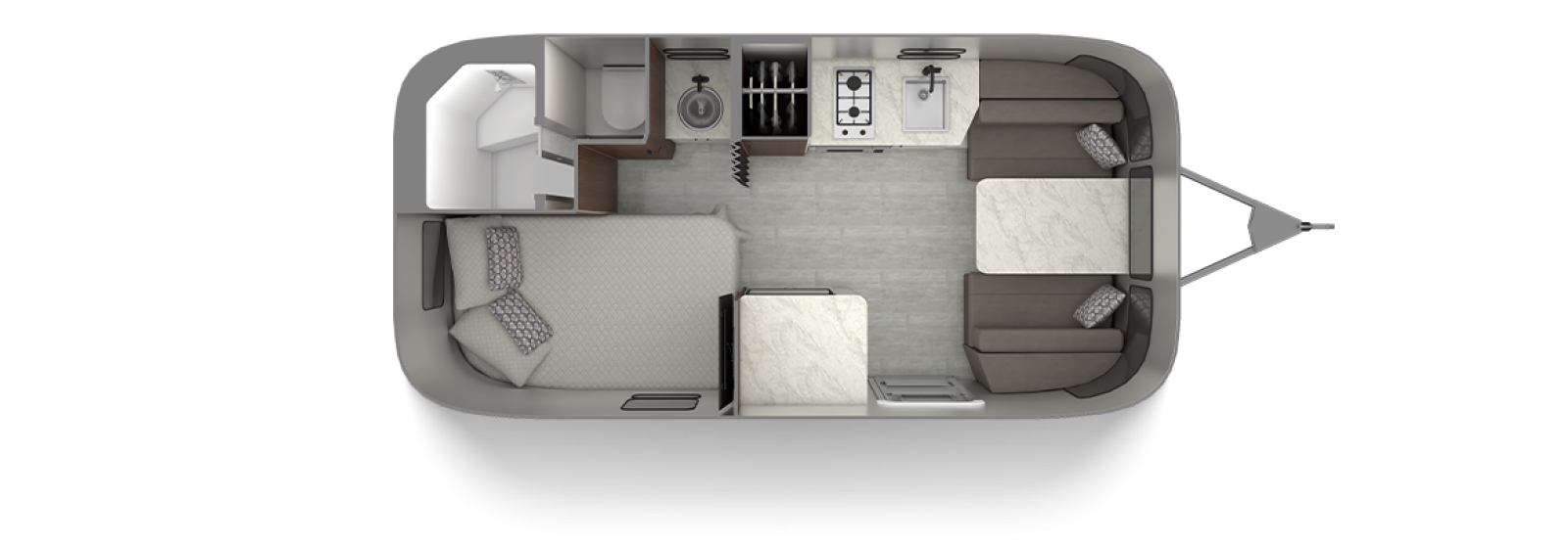 Caravel 19CB Floor Plan
