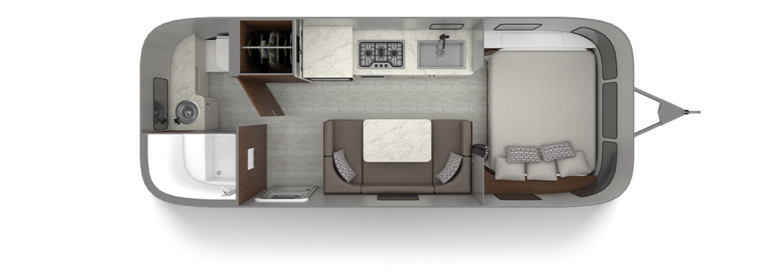 Caravel 22FB Floor Plan