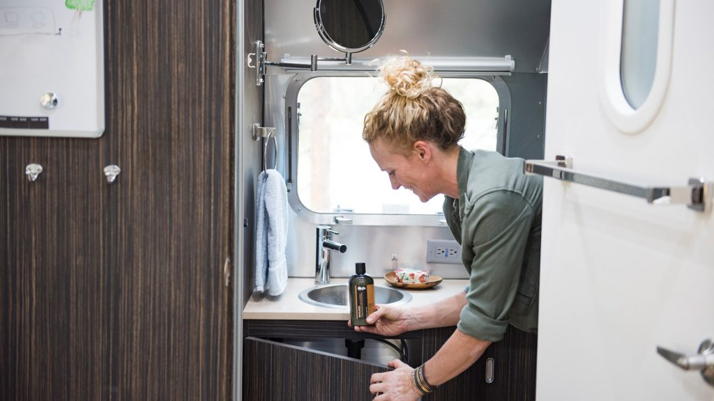 Airstream Travel Trailer Storage