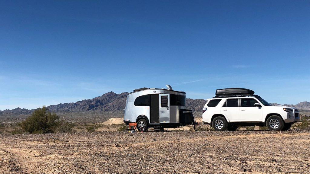 Airstream Basecamp SUV Desert