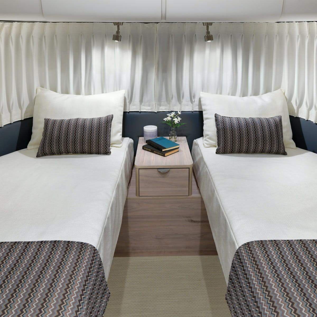 Globetrotter 23FB Twin: Twin Beds
