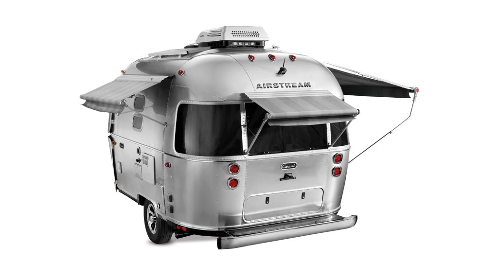 Airstream Caravel 3 Quarter Awnings Out