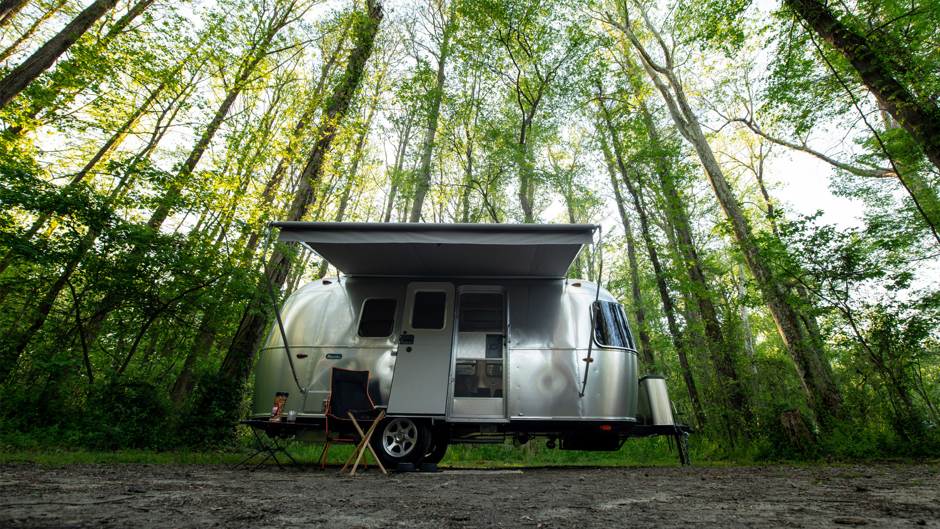 The Airstream Bambi, a small RV
