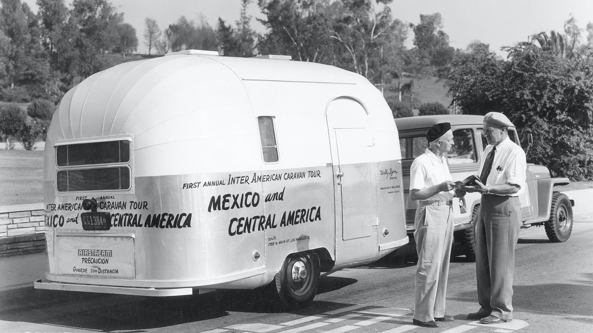 Airstream 1951 and 1952 Caravan Wally Byam and Caravan Scout