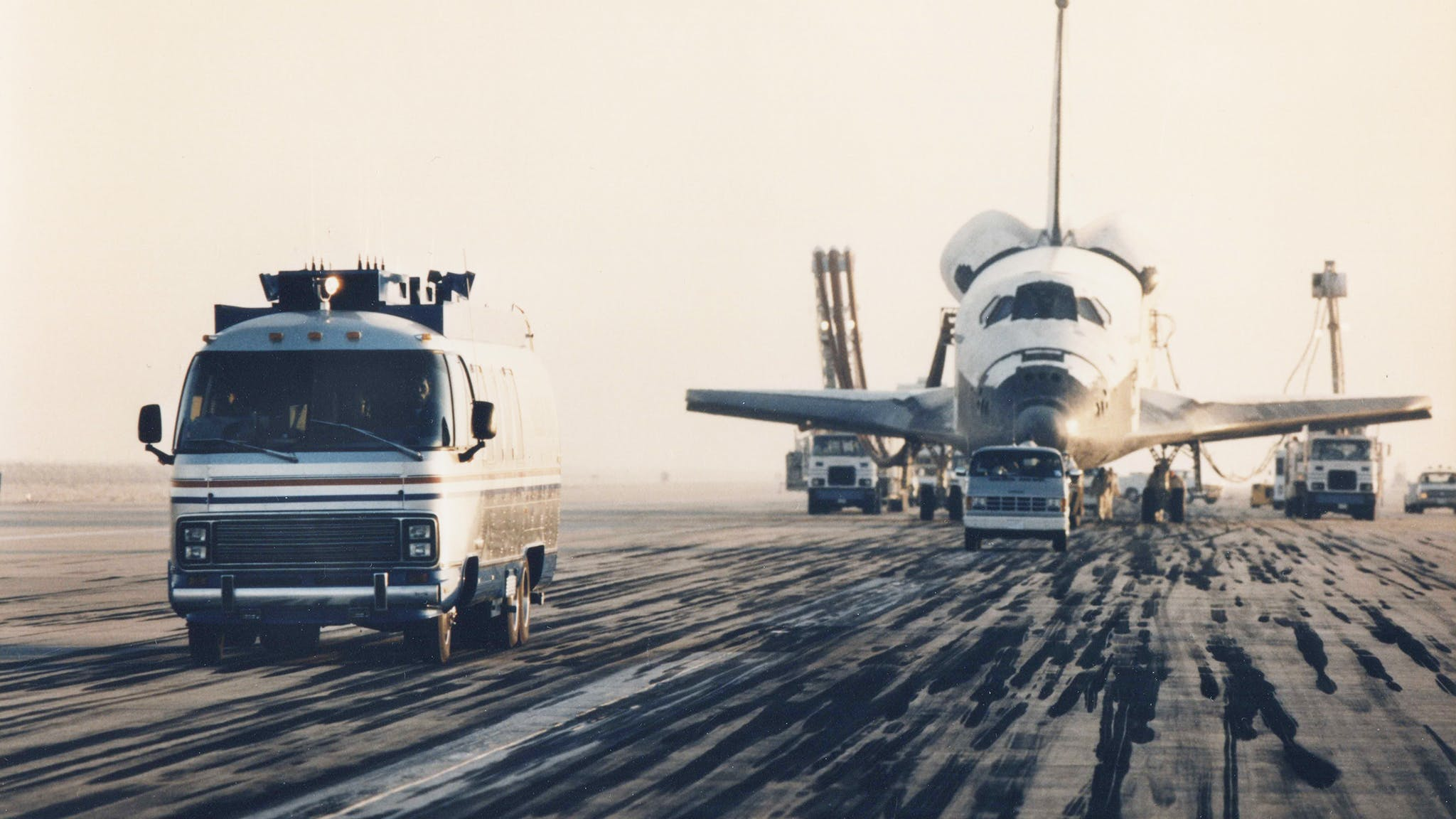 Airstream Astrovan NASA Space Shuttle