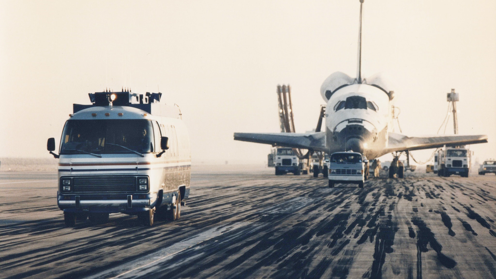 Airstream Astrovan NASA Space Shuttle