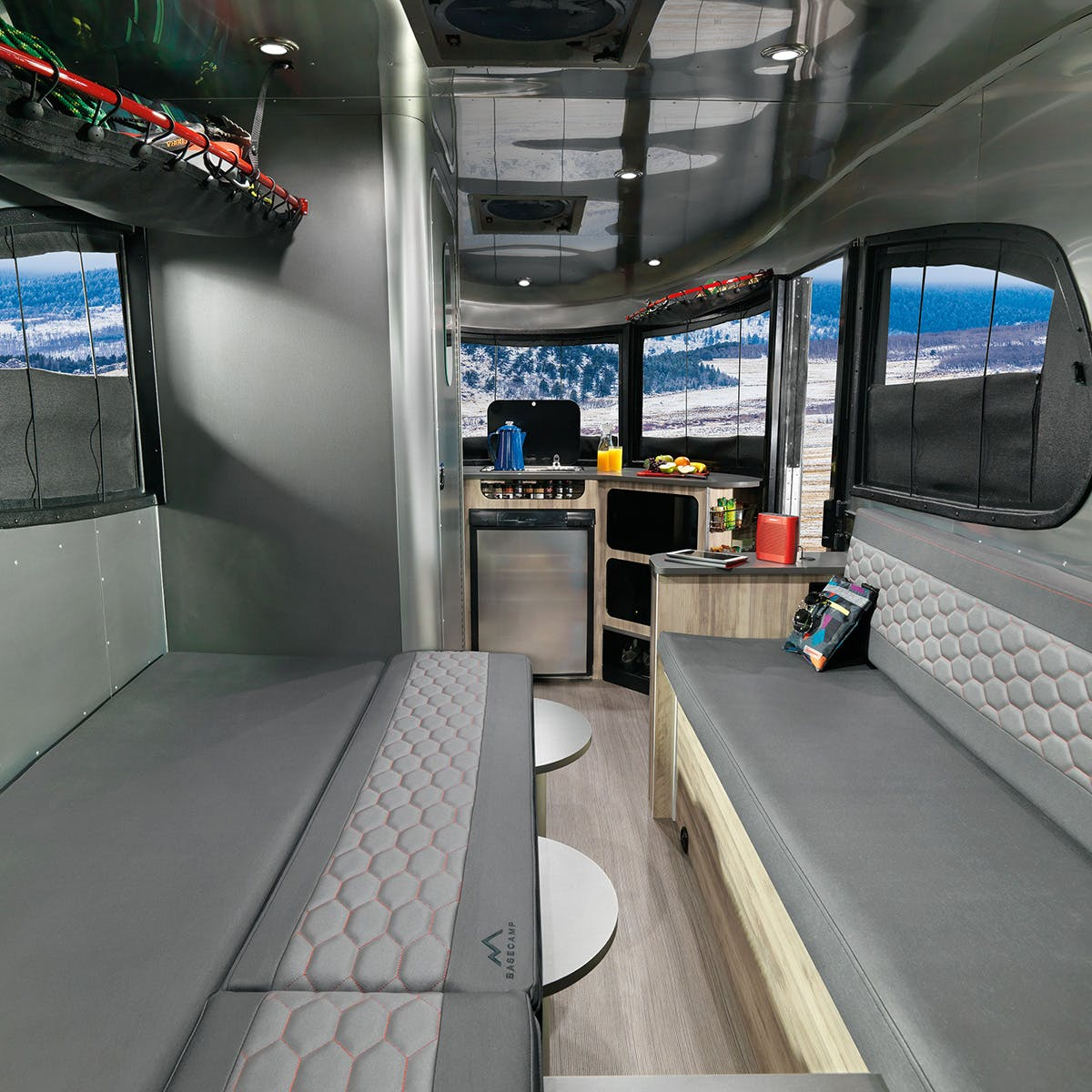 Airstream Basecamp Bed Bench Conversion