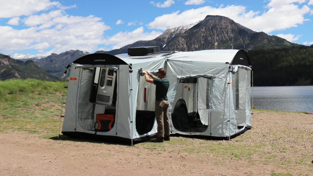 Airstream Basecamp Side and Rear Tent