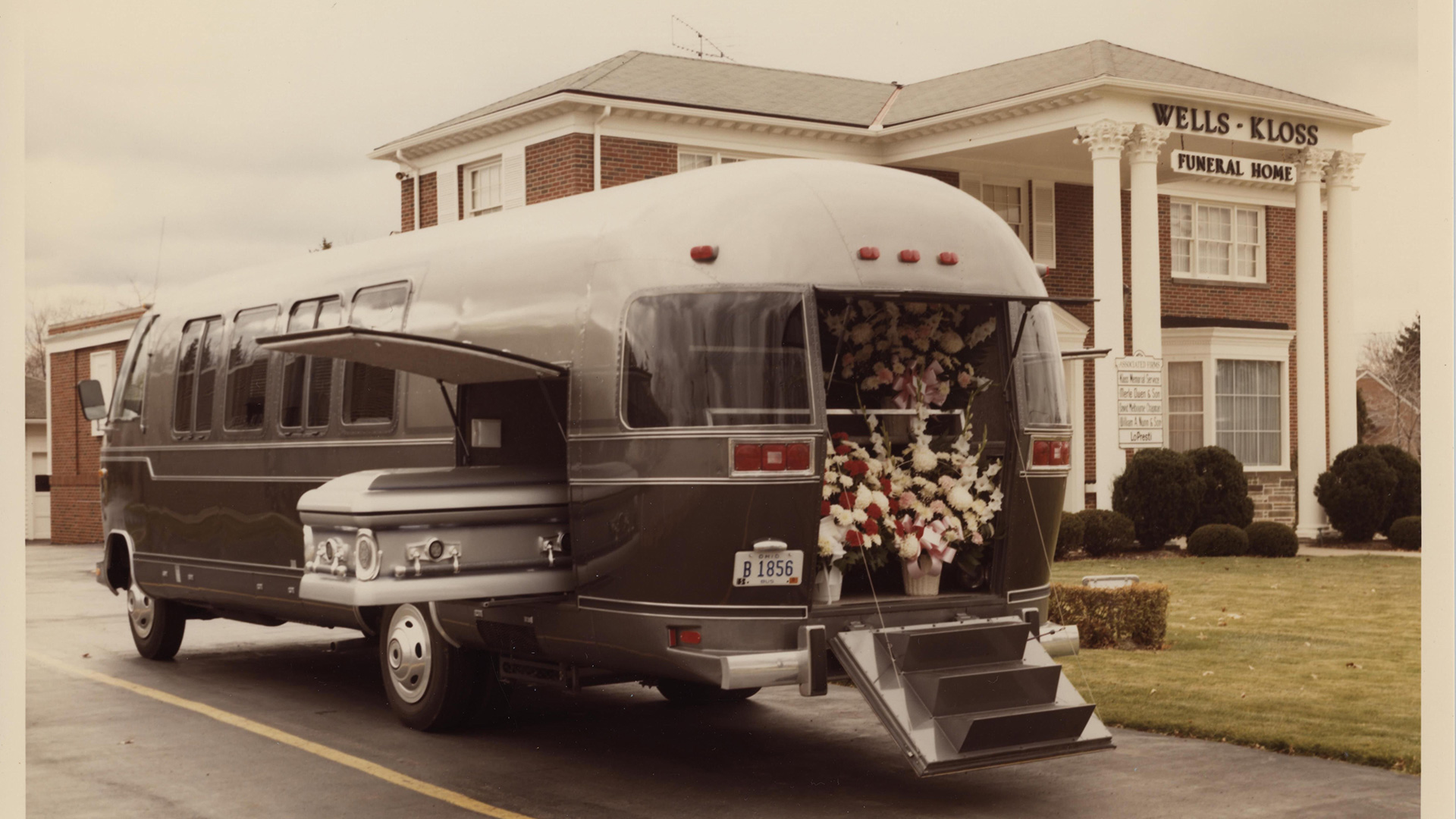 The Funeral Coach was produced from 1981-1991, and a rare 1984 Funeral Coach model will be on display in Airstream's new Heritage Center.