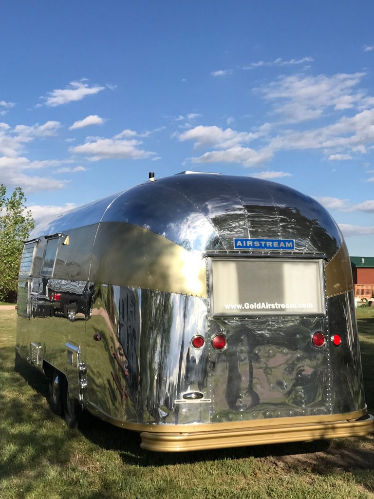 Airstream Gold Stripe Travel Trailer Restoration