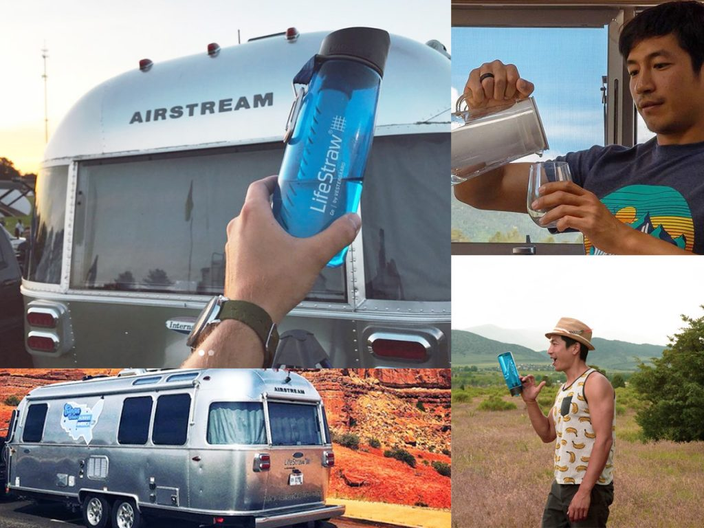 Airstream and LifeStraw