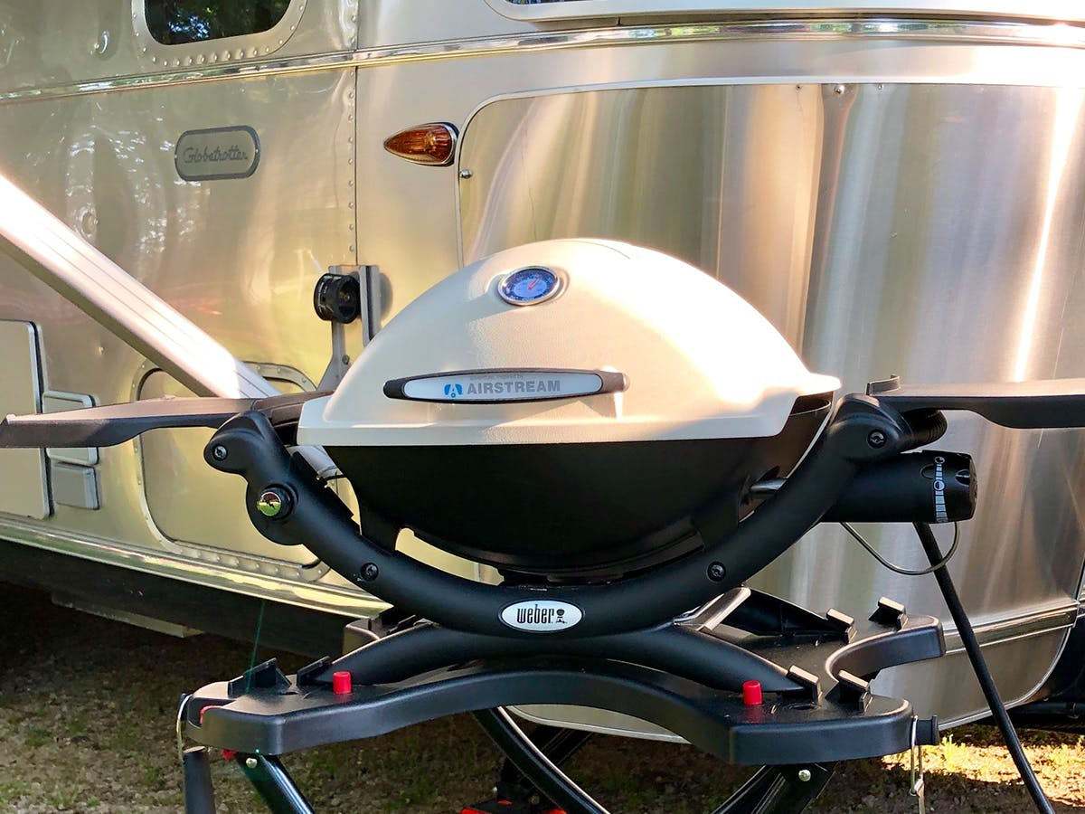 Airstream Weber Grill LP Gas