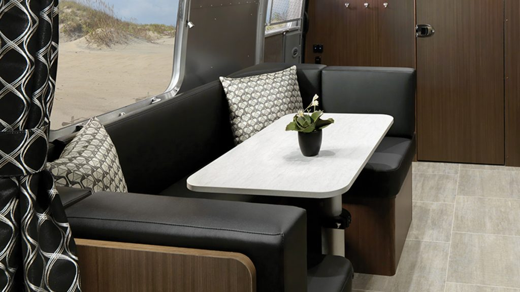 Caravel Travel Trailer Interior