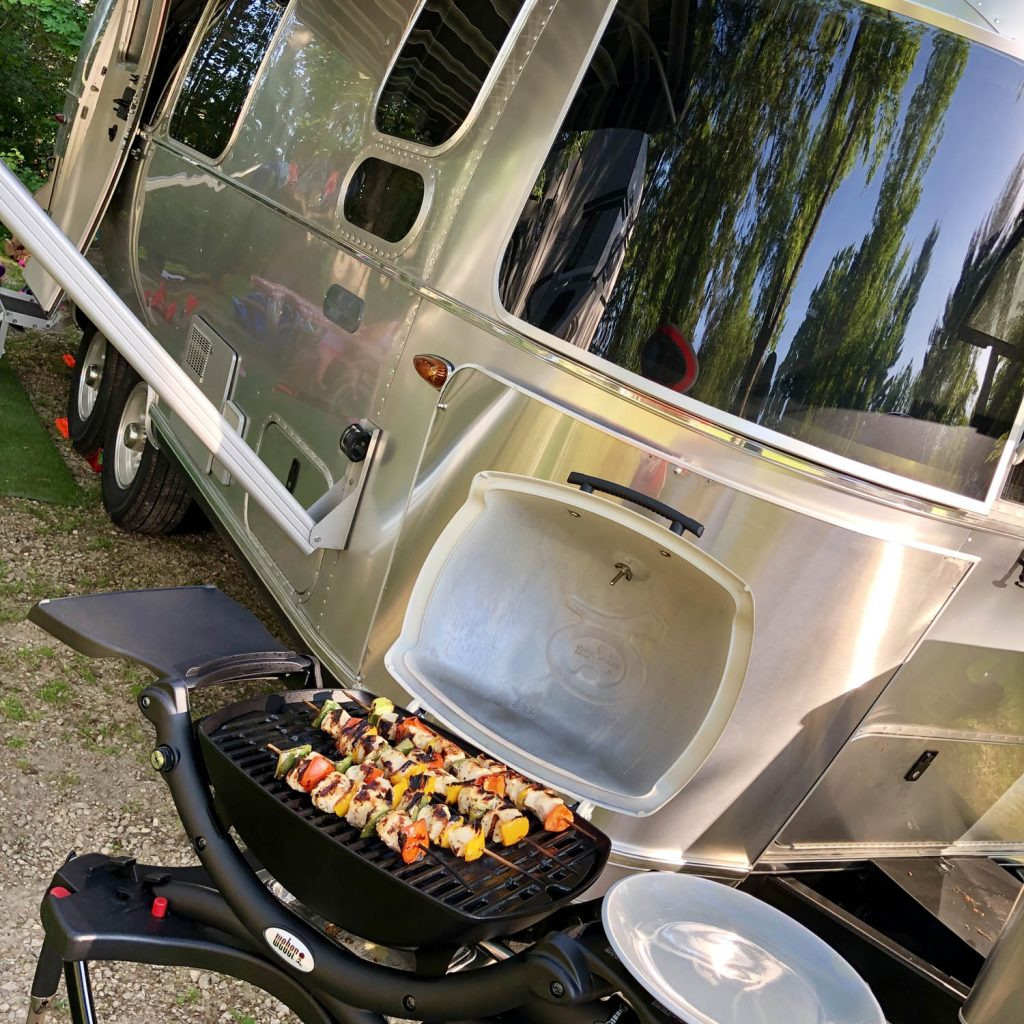 Airstream Weber Grill