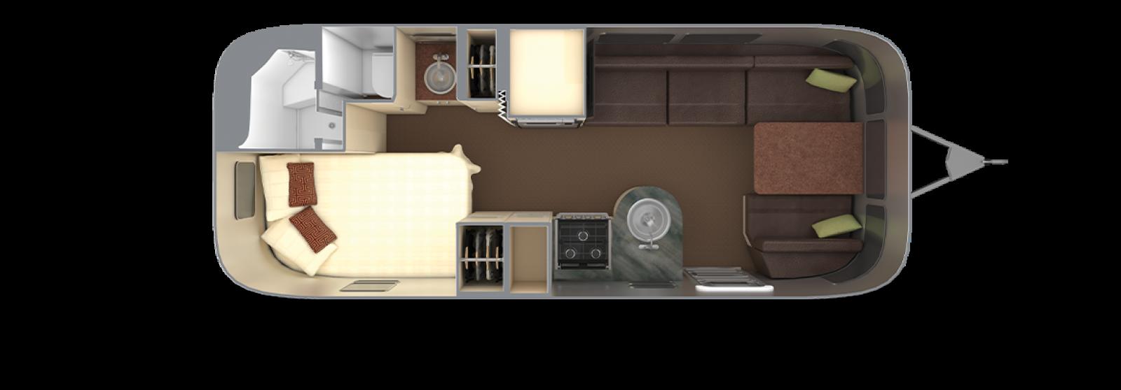 Serenity 23CB with Espresso Interior Decor