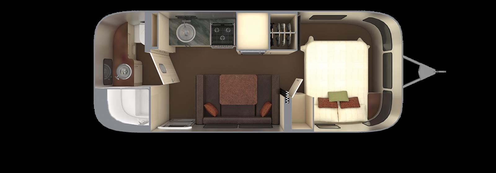 Serenity 23FB with Espresso Interior Decor