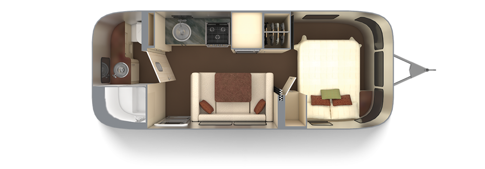 Serenity 23FB with Oyster Interior Decor