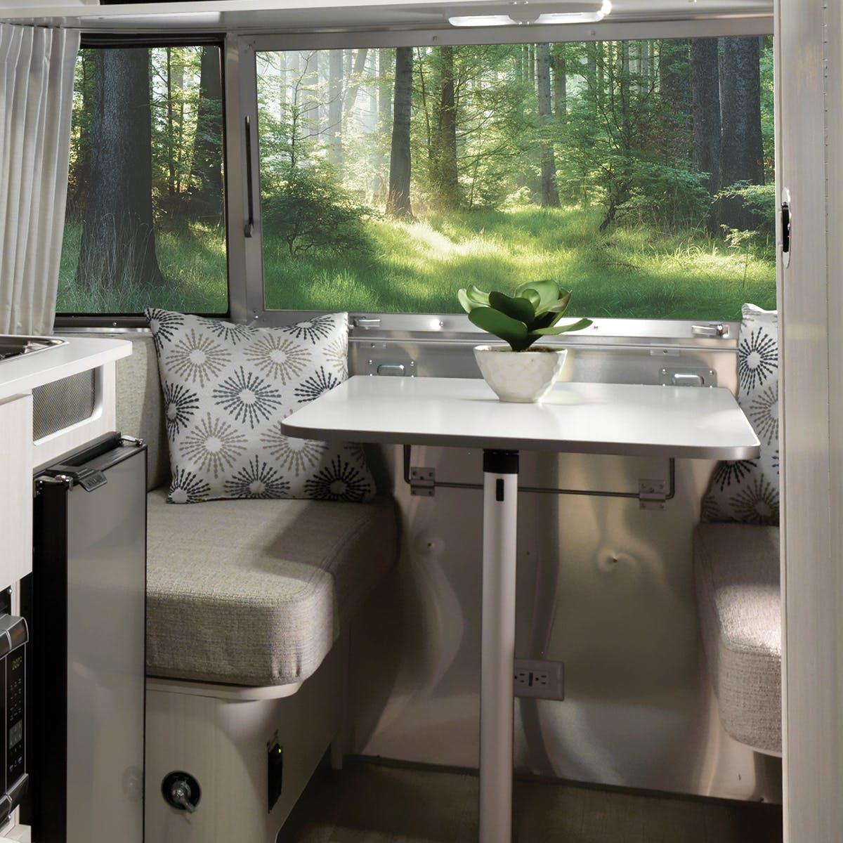 2020 Airstream Bambi 16RB Dune Decor Dinette