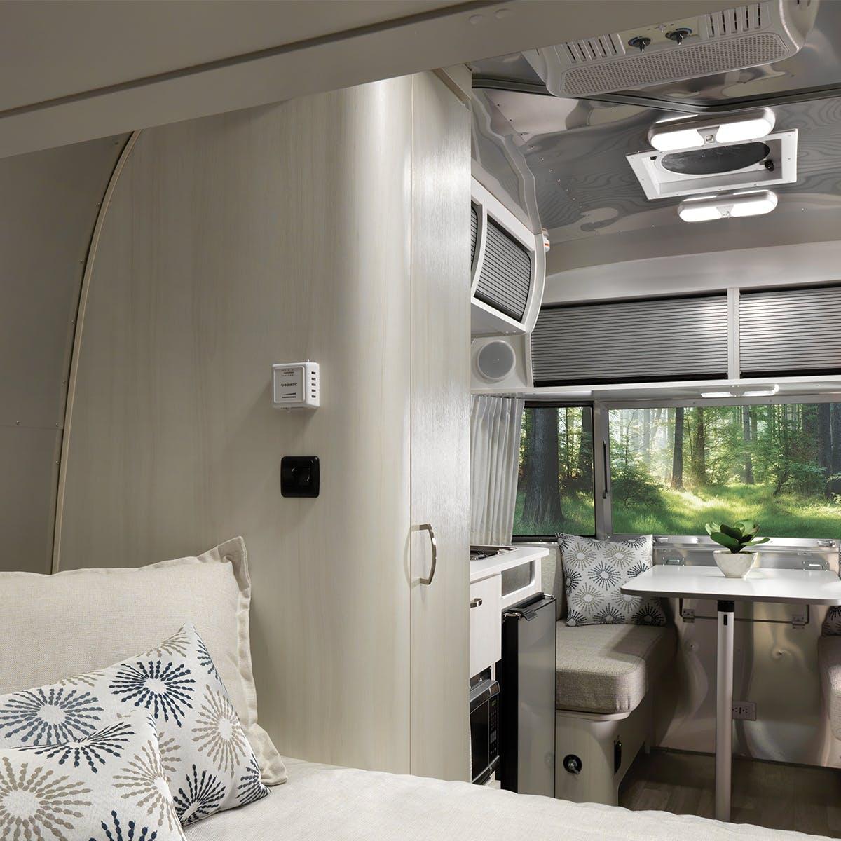 2020 Airstream Bambi Travel Trailer Interior Storage