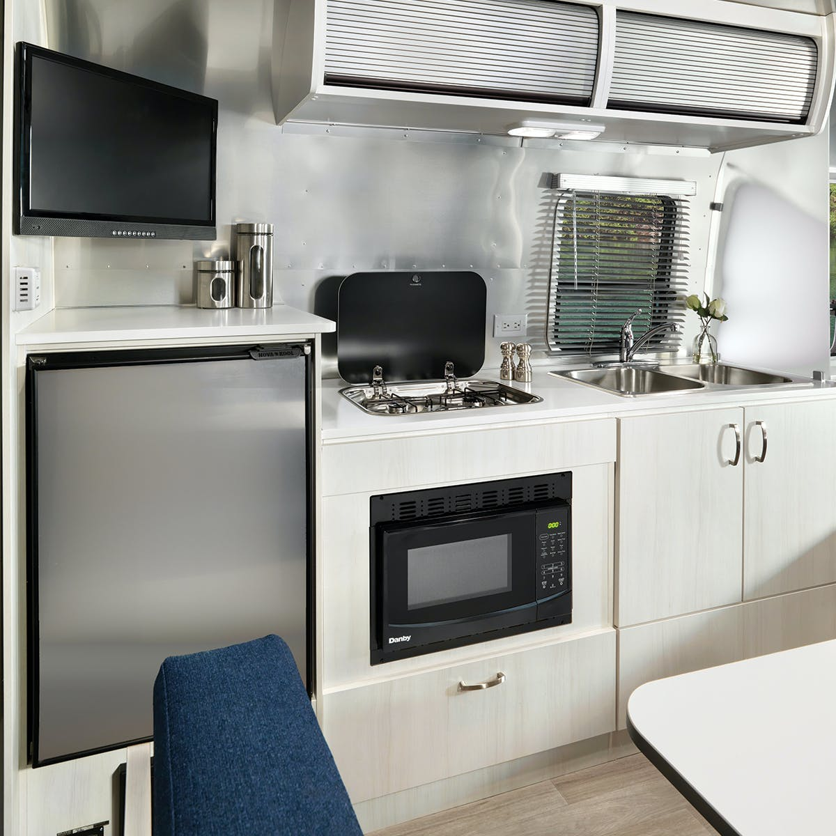2020 Airstream Bambi 22FB Kitchen