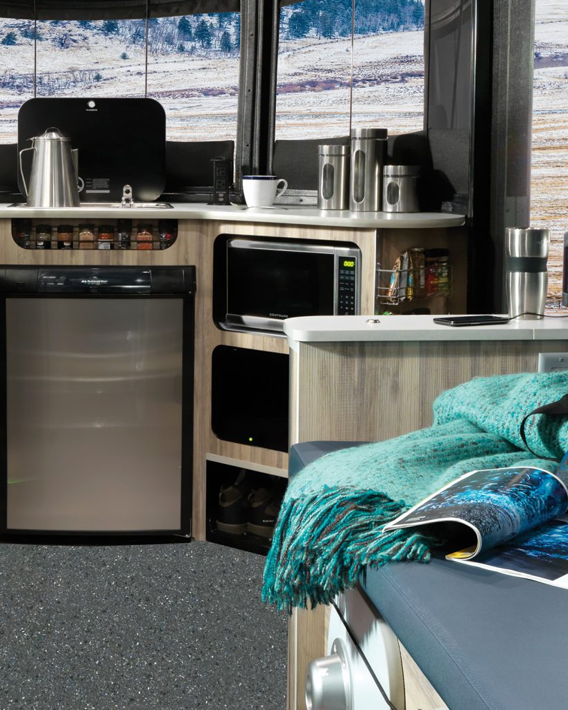 Airstream Basecamp Microwave