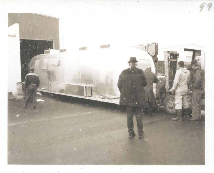 Airstream Mobile Quarantine Facility