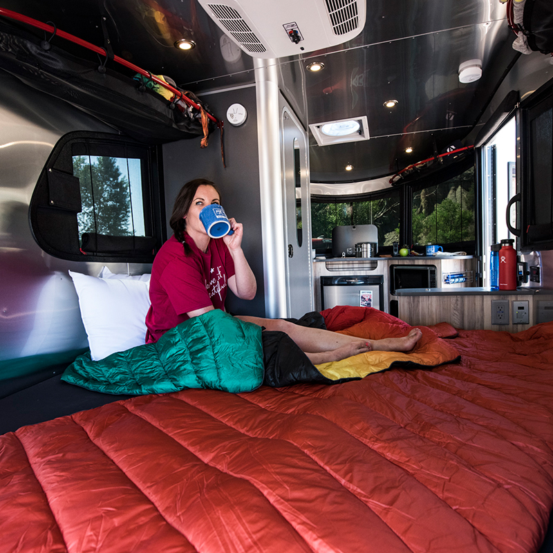 Basecamp-Lounging-and-Drinking-Coffee