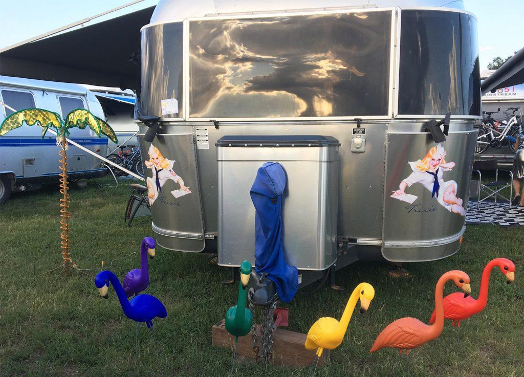 Flamingos-at-Airstream-Campsite