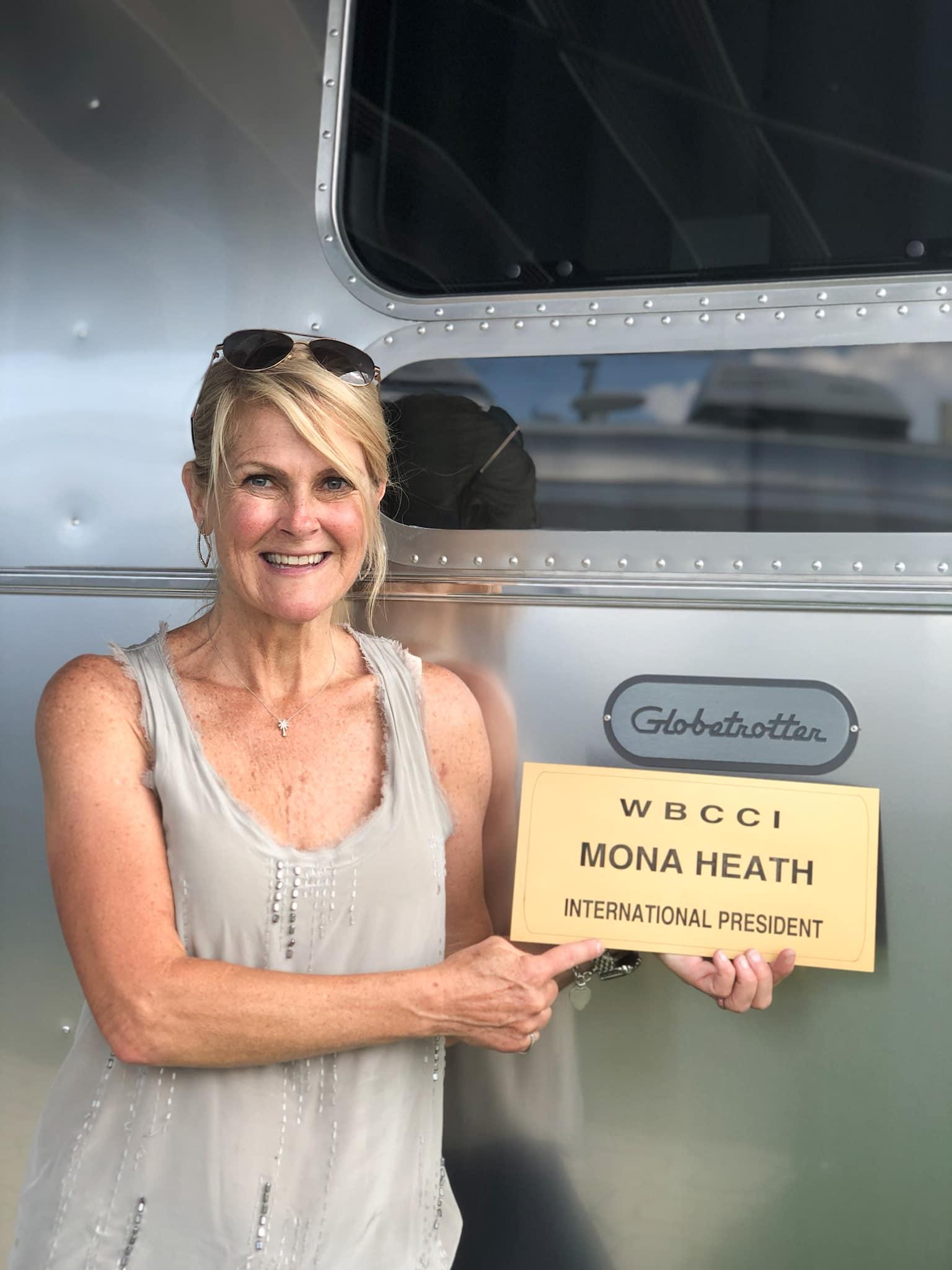 WBCCI President, Mona Heath