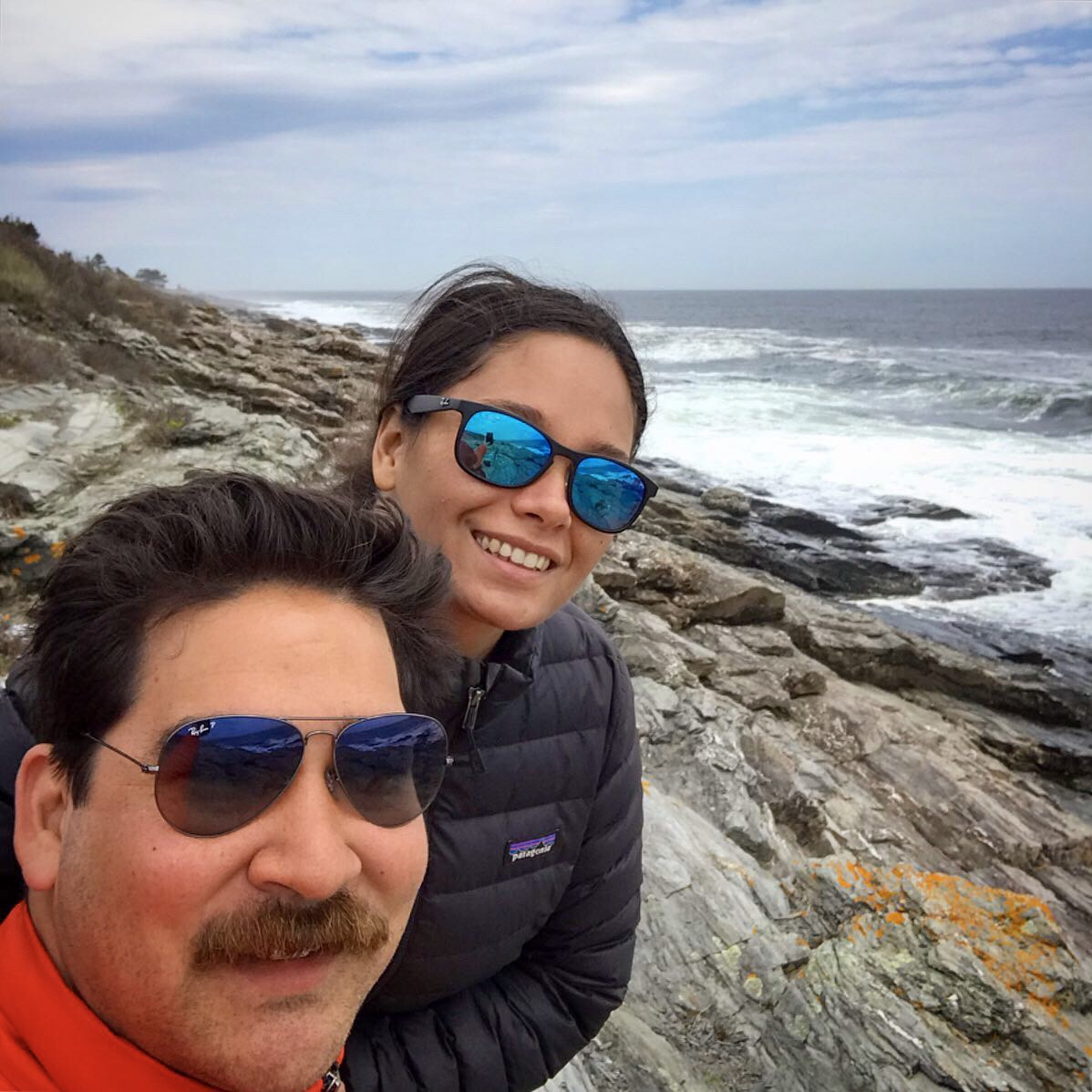 Tim and Ursulla - Beach