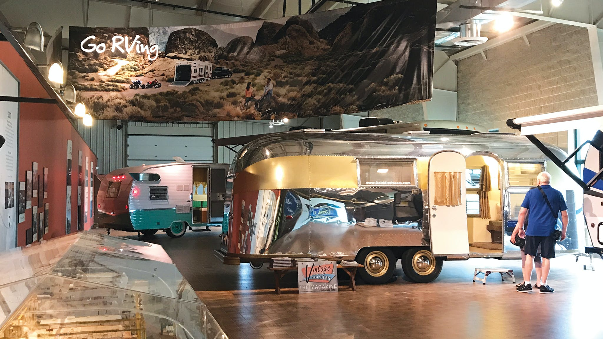 Vintage Gold Airstream