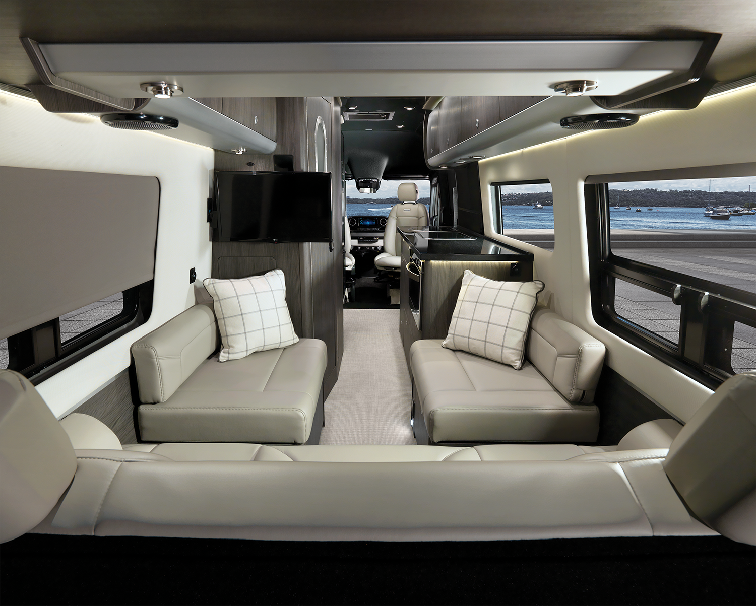 2020 TC Grand Tour Interior B2F No Table Modern Greige WEB