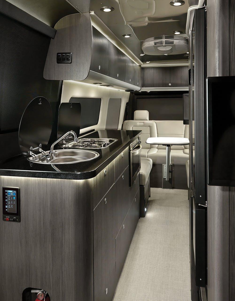 2020 TC Grand Tour Interior Galley Modern Greige WEB1