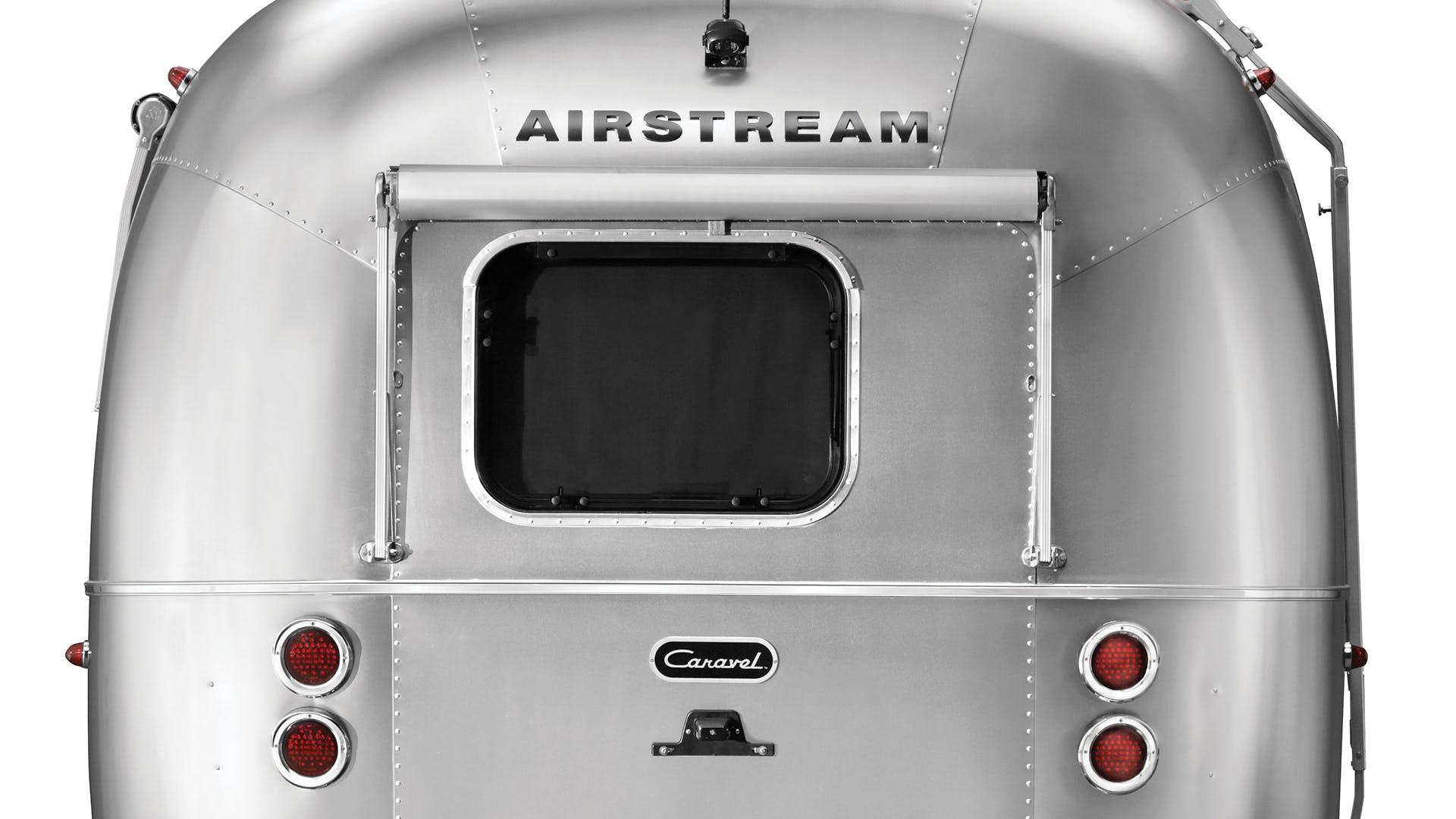 Airstream Caravel 22FB Rear Exterior