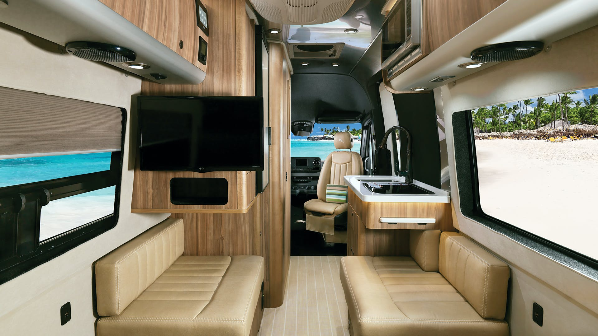 Airstream Interstate Nineteen Tommy Bahama Touring Coach Interior