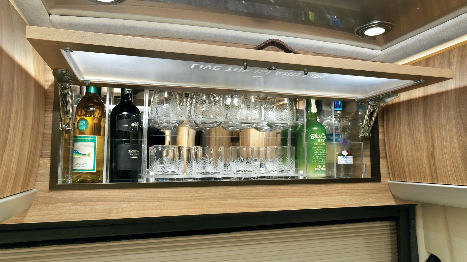 Airstream Interstate Nineteen Tommy Bahama Touring Coach Mini Bar