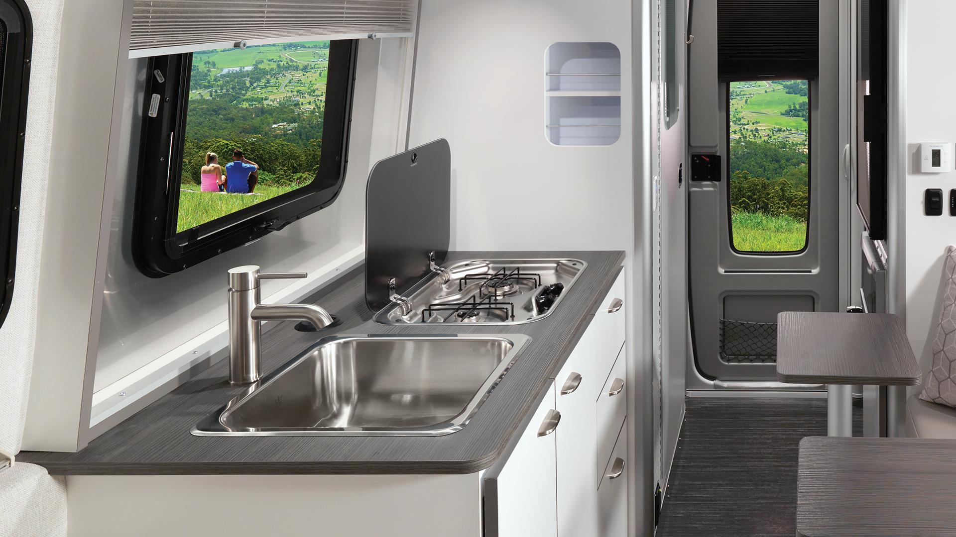Nest Travel Trailers Luxury Fiberglass Airstream