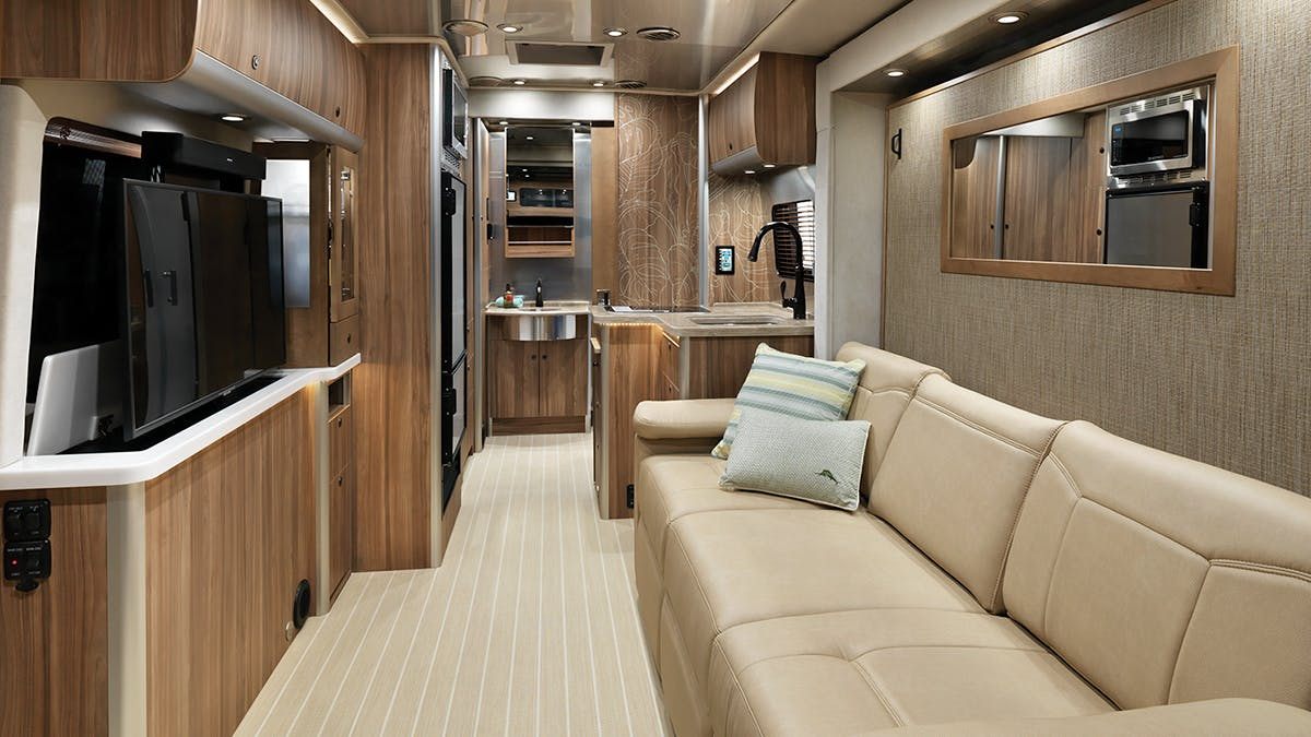 Airstream-Tommy-Bahama-Interior-Photo-TV-Up