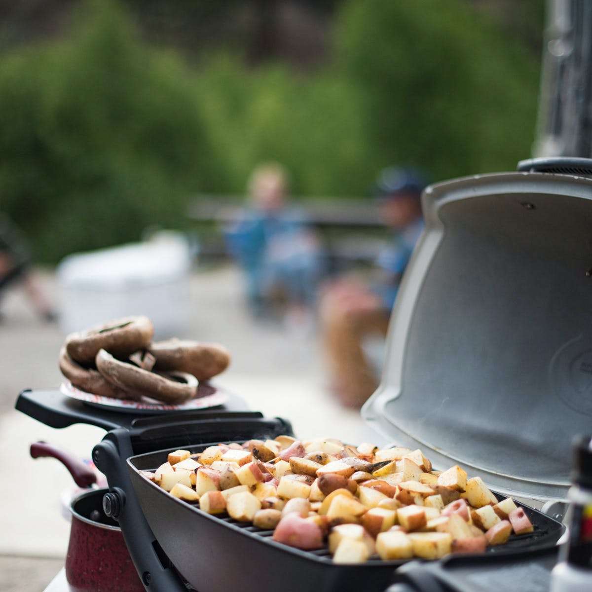 Airstream-Weber-Grill-Potatoes